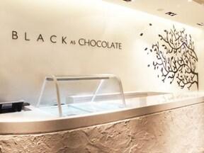 高級チョコレート店のアイス「ブラック アズ チョコレート」/台湾
