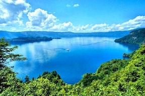 瞰湖台は車で行ける十和田湖の絶景展望台!