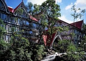 50種類の料理と天然温泉が魅力!グリーンプラザ軽井沢