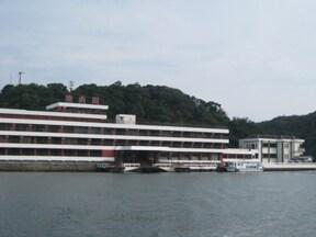 島全てがホテル!絶景風呂が自慢の『ホテル中の島』
