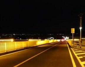 夜の異空間ドライブなら『江島大橋』へ!