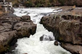 東洋のナイアガラを見に『曽木の滝公園』へドライブ!