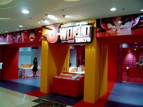 「J-WORLD TOKYO」は週刊少年ジャンプのテーマパーク!