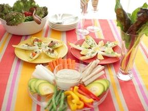 夏野菜のヘルシーパーティーメニュー