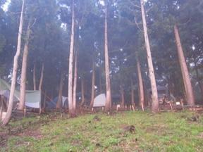 ウイングヒルズ白鳥リゾートキャンプ場(岐阜県)