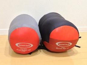 モンベルの寝袋がおすすめ
