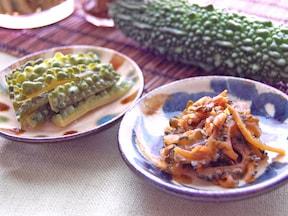 ゴーヤの佃煮とピクルス
