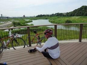 楽しみが盛り沢山な「境川サイクリングロード」