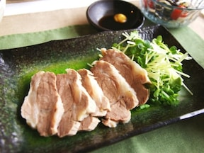 シンプルゆで豚
