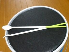 シルクの箸先がシリコンになっている菜箸