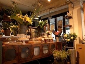 香りに癒される心地よいカフェ『Bloom and goute』