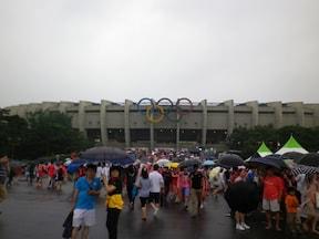ソウル観光ならオリンピックスタジアムへ!