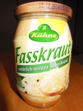 ドイツ版のキャベツの漬物『ザウアークラウト』