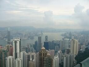 『ヴィクトリアピーク』から様々な香港の姿を一望