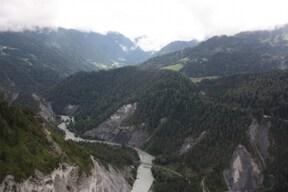 眼下に望むライン川の絶景