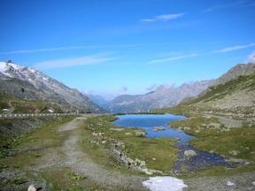 有名な峠の1つ、アルプスに囲まれた『スステンパス』
