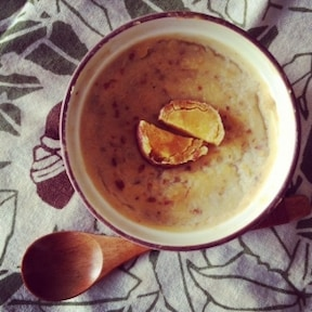 やさしい甘み! 安納芋の焼き芋プリンのレシピ