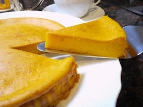 簡単パンプキンチーズケーキ