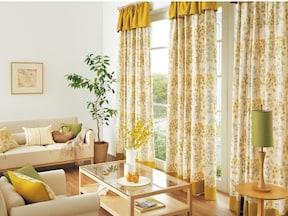 既存のカーテンをアレンジ