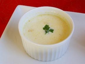 ごろごろカボチャのスープ