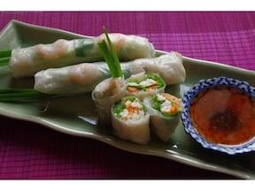 タイ料理の定番人気レシピ! ベトナム風生春巻き