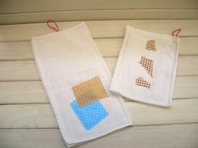 まずはこれから!「紐付きタオルや雑巾」