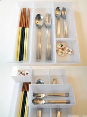 キッチン&机の引き出し収納方法