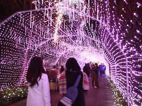 江ノ島シーキャンドル ライトアップイベント『湘南の宝石』(11月末~2月中旬)
