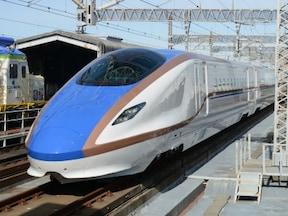 JR東日本とJR西日本が共同開発した新型車両E7系