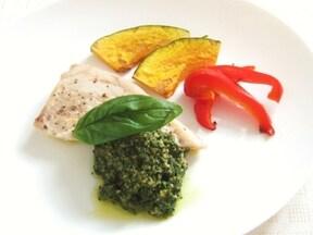 めかじきと野菜のジェノベーゼソテー