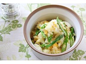 人気!アスパラと卵のポテトサラダのレシピ