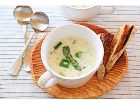 アスパラガスのとろとろクリームスープ