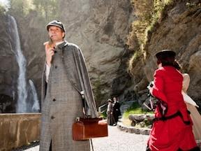 ホームズ終焉の舞台、ライヒェンバッハの滝/スイス