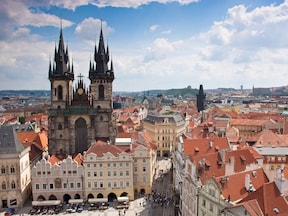 【チェコ】 プラハ旧市街 中世ヨーロッパを象徴とする旧市街を散歩