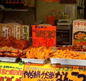コロッケが30円で食べられる「十条商店街」