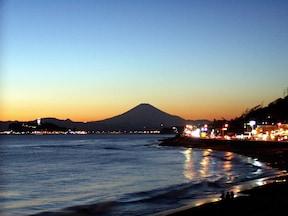 稲村ケ崎 美しい夕景