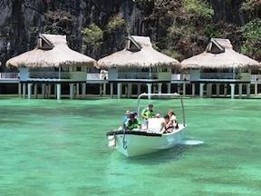 フィリピンの海を堪能/エルニド・リゾート・ミニロック・アイランド