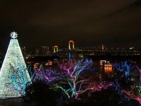 """デックス東京ビーチ お台場イルミネーション""""YAKEI"""""""