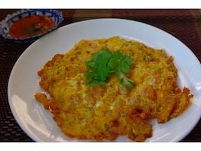 卵とエビとナンプラーだけ!タイ風オムレツが作れるレシピ