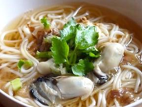 胃に優しい味わい!10分で出来る「釜揚げ牡蠣にゅうめん」