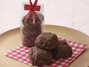 HMで作るダブルチョコレートスコーン