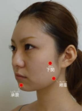 二重あごが気になってきたら顔の「3点刺激」でスッキリ