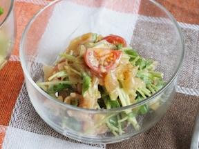 食感楽しい簡単サラダ!中華クラゲのコリコリサラダ