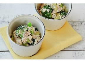 洋風白和え!ツナとブロッコリーのサラダ