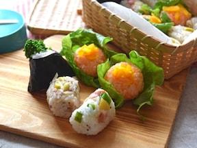 おかずいらずの野菜たっぷりアレンジおにぎり!簡単おいしい彩りレシピ