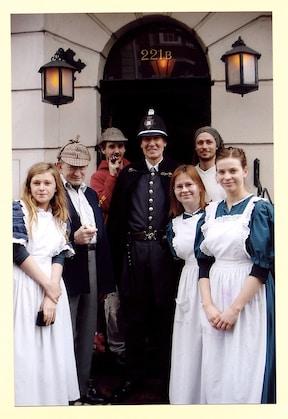 ファンの聖地、シャーロックホームズ博物館/イギリス