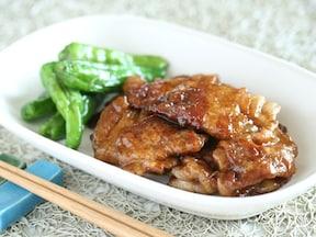 薄切りをくしゅっとすれば厚切り風!豚ロースを使って柔らかテリヤキ簡単おいしいレシピ