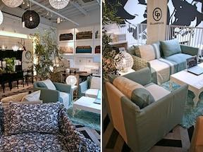 フランフランの家具シリーズ・GLAMPIECE(グラムピース)のソファ