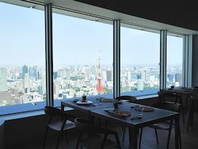 東京の絶景を見ながら美味しいグルメも