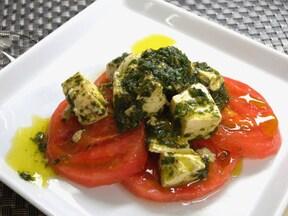 前菜にも◎豆腐によく合う簡単バジルソースレシピ